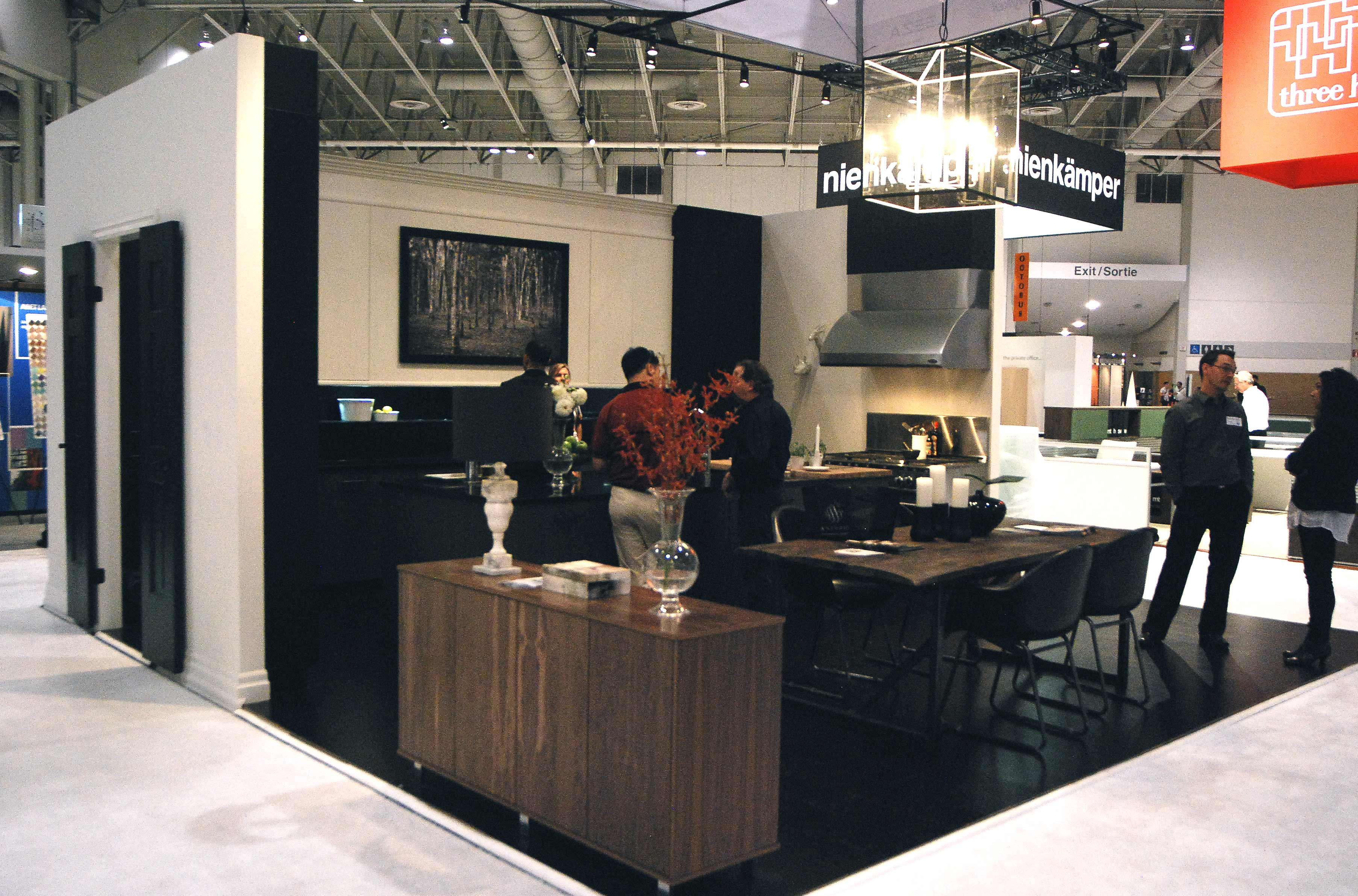 Interior Design Shows aya kitchens – interior design show booth « melissa davis