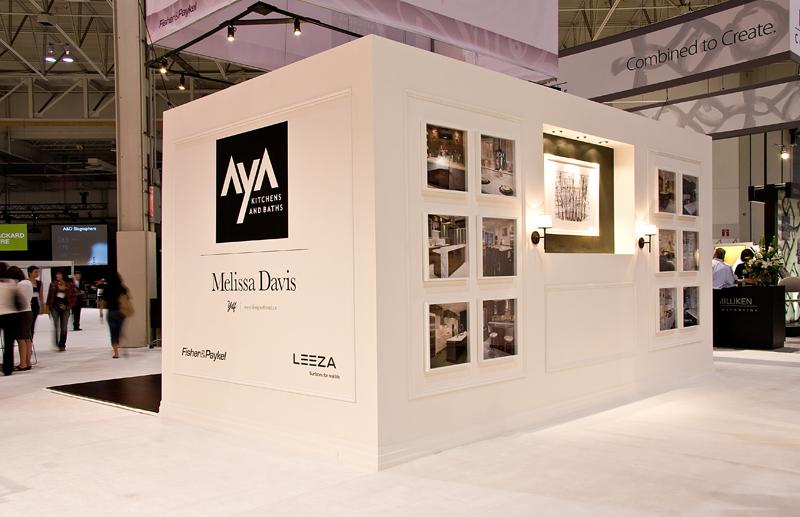 Aya Kitchens Interior Design Show Booth Melissa Davis