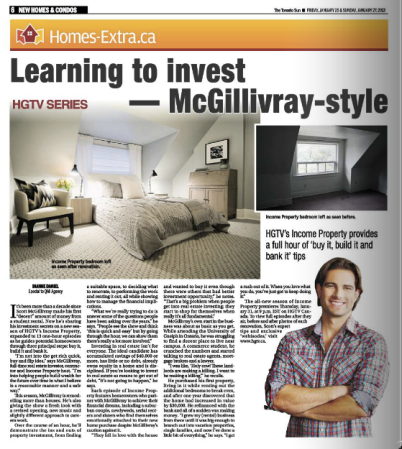 our designs on IP in Toronto Sun