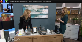 Melissa Davis on Marilyn Denis